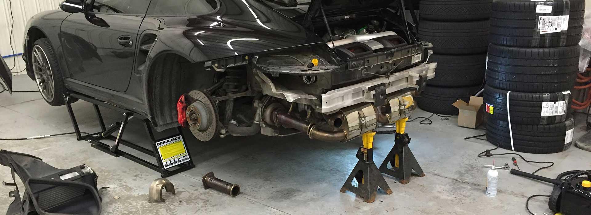 Quickjack car jacking system